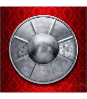Broquel medieval de Espadachim