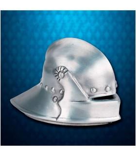 Mini capacete medieval Sallet