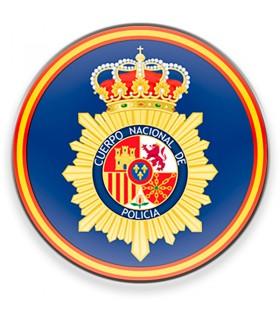 Ímã Corpo Nacional da Polícia Espanhola CNP para geladeira