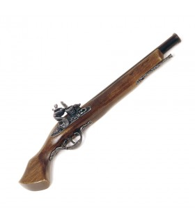Pistola de pederneira Brescia século XVII