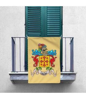 Estandarte Medieval 1 Apelido Personalizado (70x100 cms.)
