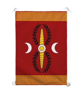 Estandarte da Legião Romana SPQR para interiores e exteriores (70x100 cms.)