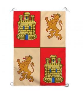 Estandarte Medieval Castela e Leão (70x100 cms.)