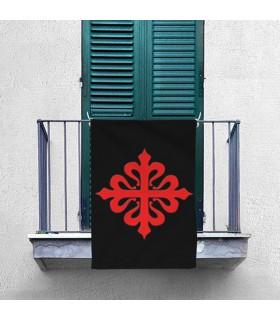 Estandarte Cruz da Ordem de Calatrava (70x100 cms.)