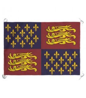 Bandeira do Reino da Inglaterra, séculos XIV-XV (70x100 cms.)