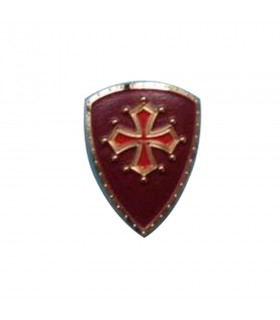 Ímã medieval, com a Cruz dos Cataros, 5 cm