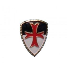 Ímã medieval, com a Cruz dos Templários, 5 cm