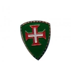 Ímã medieval, com a Cruz dos Cavaleiros de Cristo, 5 cm