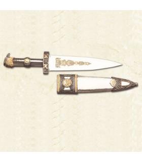 Dagger Roman com bainha de metal