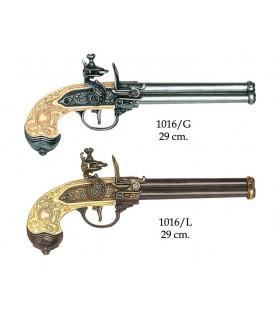 Italianos arma 3 armas fabricadas pela Lorenzoni, 1680