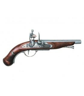 Pistola pirata francês, do século XVIII