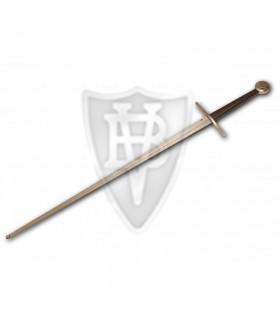 Mão e meia espada medieval para treinamento de esgrima HEMA