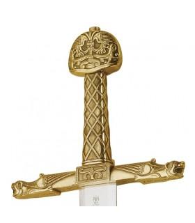 espada de bronze de Carlos Magno