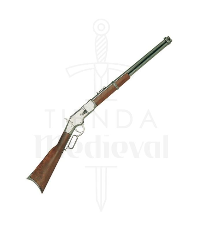 Rifle winchester fabricado pela eua 1866 100 cms loja medieval fabricado por rifle winchester eua 1866 fandeluxe Image collections