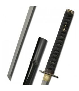 práticas Katana Shinobi Ninja (cabo preto)