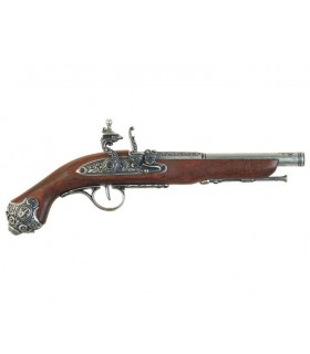 Pistola de percussão século XVIII