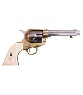 45 calibre barrel revolver 5 1/2 fabricado pela S. Colt, EUA 1873