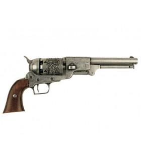 revolver Dragoon fabricado pela S. Colt, EUA 1848