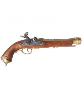 Italiano percussão século XVIII Pistol