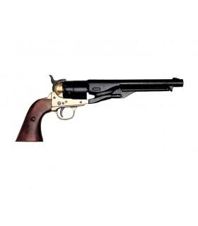revólver do exército dos EUA de uma guerra civil fabricado pela S. Colt, 1860
