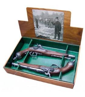 Setembro 2 pistolas de duelo italianos, 1825