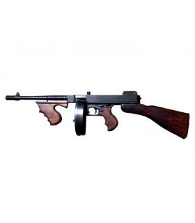 Thompson metralhadora usada por gangsters, EUA 1928