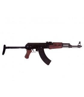 rifle de assalto soviético AK-47 com coronha dobrável