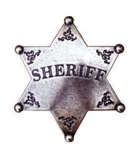 6 pontas estrela Sheriff