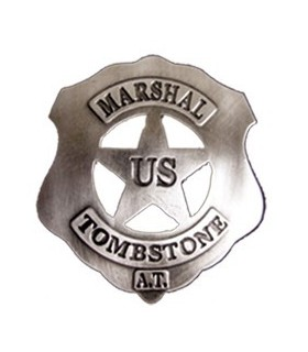 Placa US Marshal Tombstone
