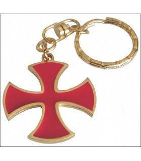 Chutar cruz templária Keychain
