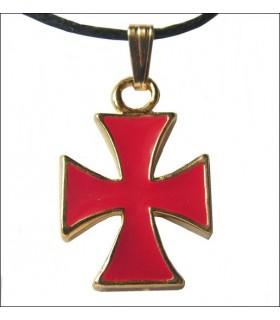 Templários Cruz Pendant