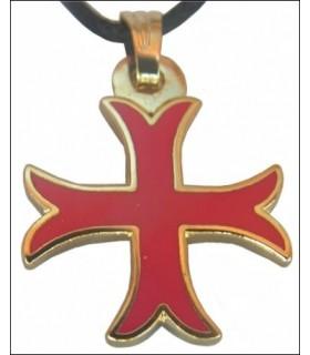 Templários Cruz Pendant pontapé