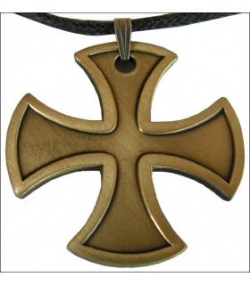 Pingente pontapé cruz templária