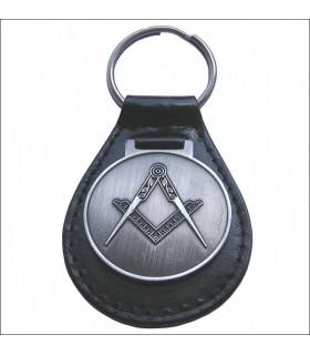 couro chaveiro Masonic