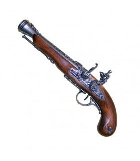 Pistol pirata faísca século XVIII (pé esquerdo)