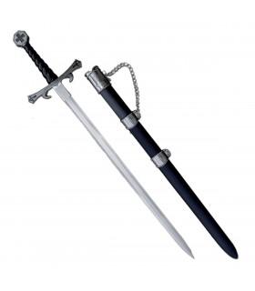 espada Templar com bainha (93 cms.)