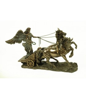 Figura agradável deusa grega da vitória