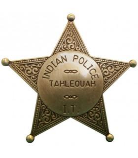 A polícia Badge Índia