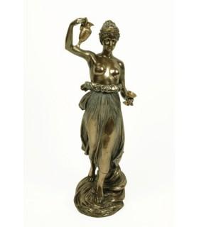 figura grega Hebe, 31 cms.