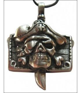 pingente de cabeça do pirata