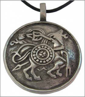 símbolos pingente de Viking
