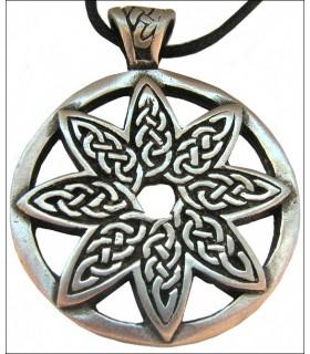 Celtic pingente de flor