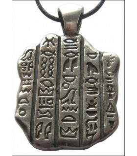 Egyptian pingente de pedra Rosatta