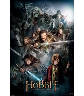 Cartaz O Hobbit, Uma Jornada Inesperada, 61x91 cm.