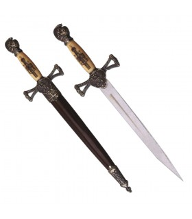 Adaga Medieval com Bainha (35 cms.)