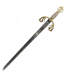 Espada Tizona para casamentos (com texto personalizado gravado)