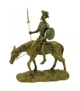Figura Don Quixote a cavalo