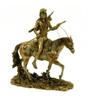 Sioux indiano figura equitação