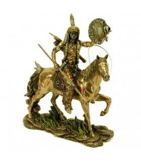 Cheyenne indiano figura equitação