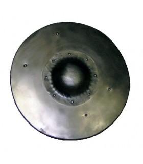 Escudo redondo funcional decorado